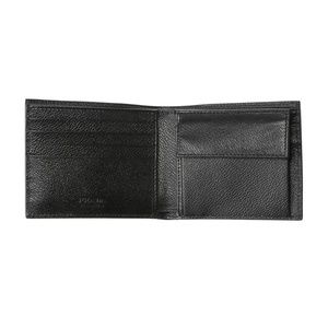 Prada Accessories - Prada Nero Black Leather Bifold Wallet